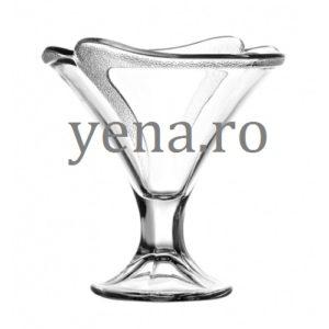 Set 6 cupe pentru salata de fructe sau inghetata Descriere: Inaltime 13,5 cm Diametru 12,8 cm