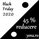 Black Friday - 45% reducere